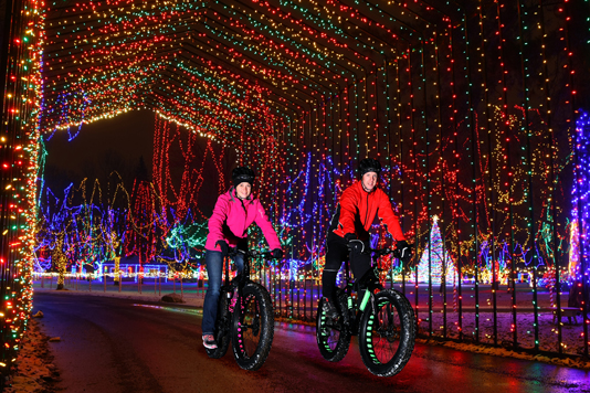 Bike through the Holiday Lights
