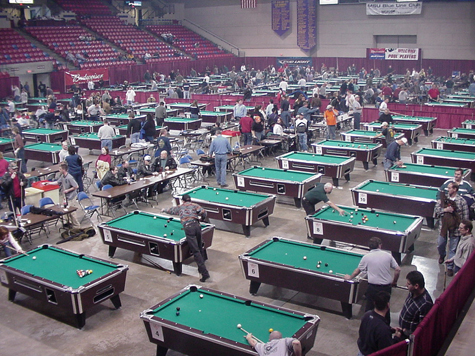 Verizon Wireless Center Arena - Pool Tournament
