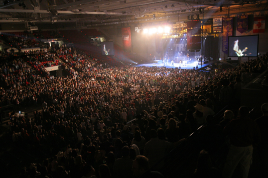 Large Concerts Held at Verizon Center