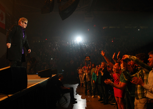 Elton John Concert at Verizon Center