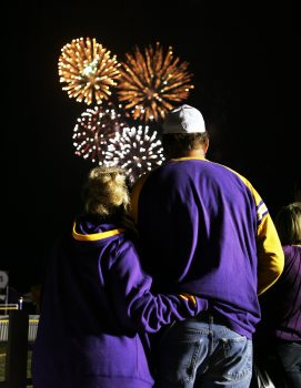 Vikings Training Camp Fireworks