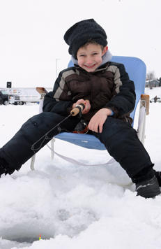 MSU Big Bobber Ice Fishing Contest