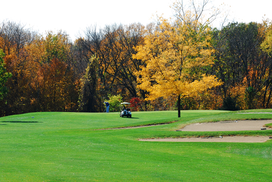 Golfing in the Fall