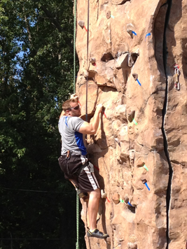 Rock Wall at MSU-Mankato