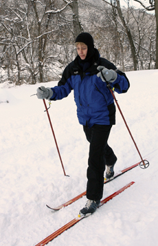 Cross County Skiing at Seven Mile Creek