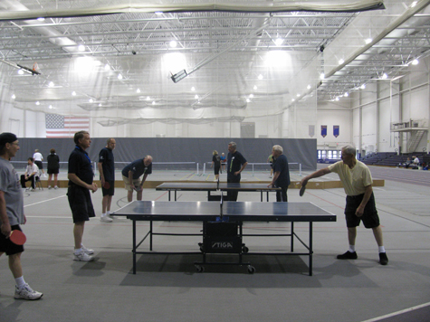 Senior Games Table Tennis