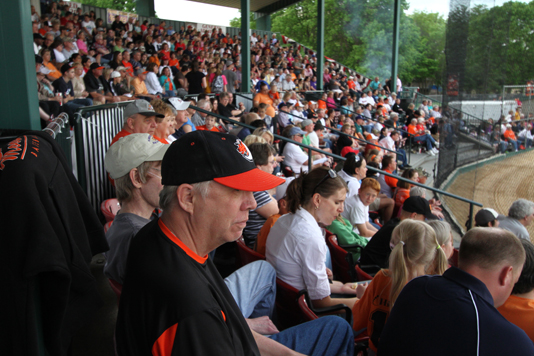 Mankato MoonDogs Baseball Fans