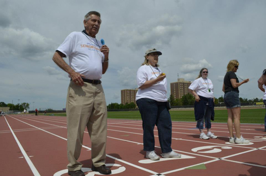 Senior Games Volunteers