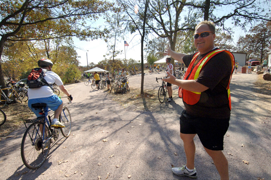 Mankato River Ramble Volunteer