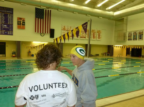Senior Games Volunteer