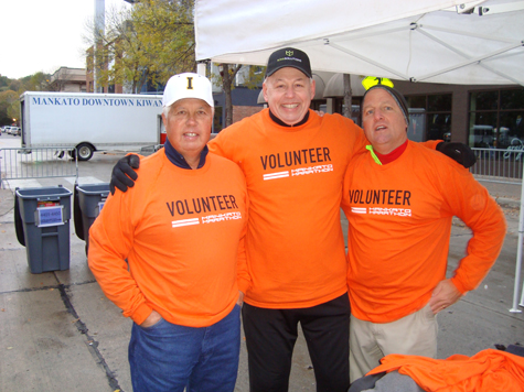 Mankato Marathon Volunteers