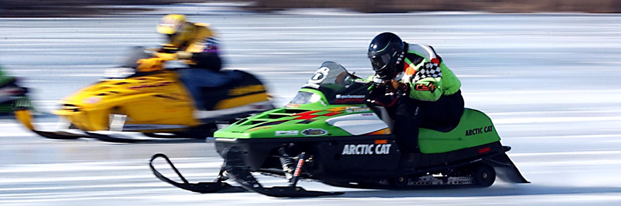 Mankato Snowmobile Race