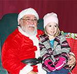 Kiwanis Holiday Lights Santa in Mankato
