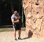 Minnesota State University, Mankato Outdoor Rock Wall