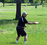 Disc golf at Land of Memories Park in Mankato
