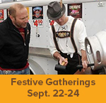 Gather in the GreenSeam theme weekend - Festive Gatherings