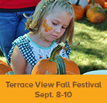 Gather in the GreenSeam theme weekend - Terrace View Fall Festival