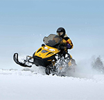 Snowmobiling in Mankato