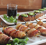 3rd Street Tavern bacon-wrapped jalapenos