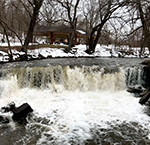 Minneopa State Park waterfalls - credit Anita McVey, Picnic Life Foodie