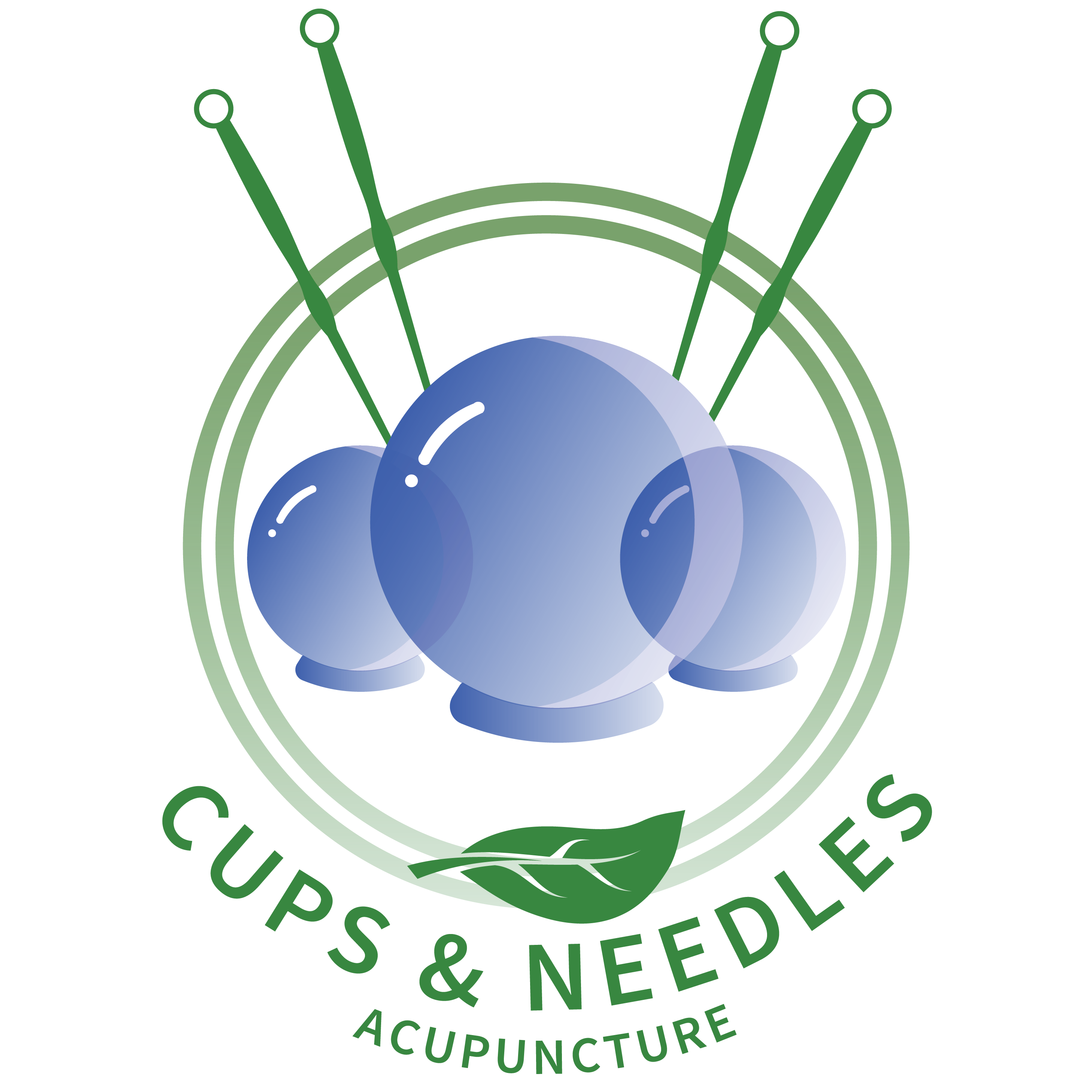 cups and needles acupuncture in Mankato