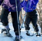 Snowshoeing in Mankato. Credit Free Press